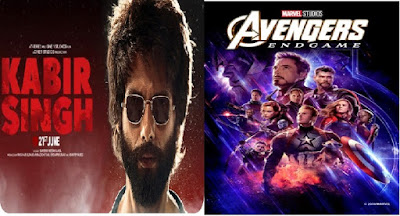 Kabir Singh defeated Avengers Endgame as the most searched movie on Google in India in 2019.