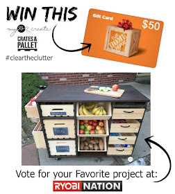 Giveaway with MyLove2Create and Crates and Pallet #cleartheclutter