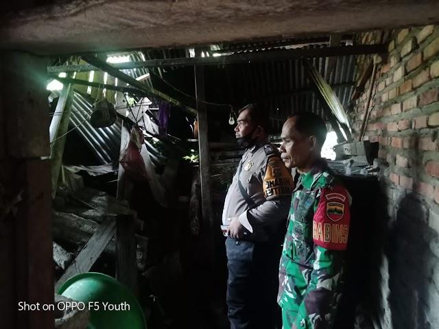 Tiga Rumah Ditimpa Longsor di Nagari Pilubang Sungai Limau