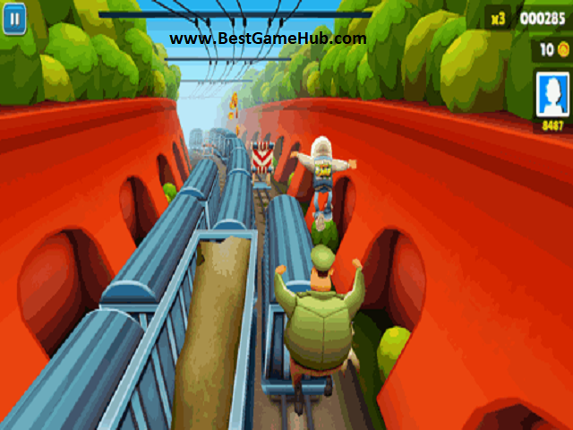 Subway Surfers Android Game For PC Download Free