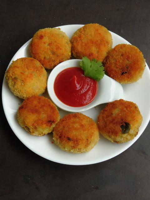 Egg cutlets, Egg bhurji Cutlet