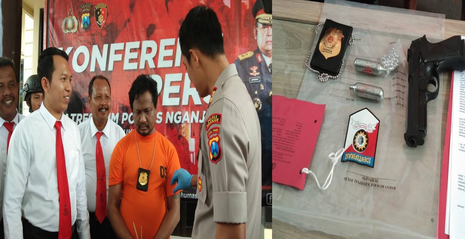 POLISI GADUNGAN PANGKAT IPDA TIPU WANITA 45 TAHUN
