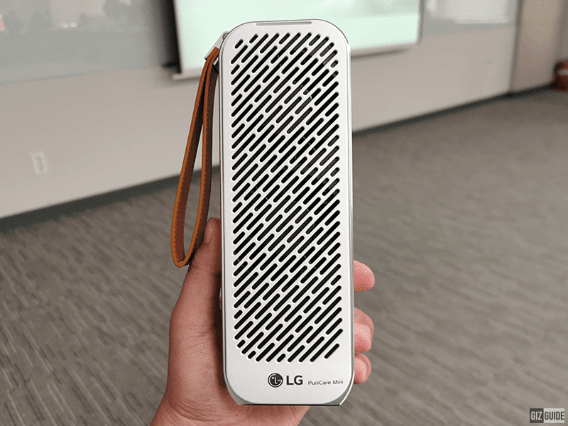 LG PuriCare Mini Air Purifier showcased in South Korea