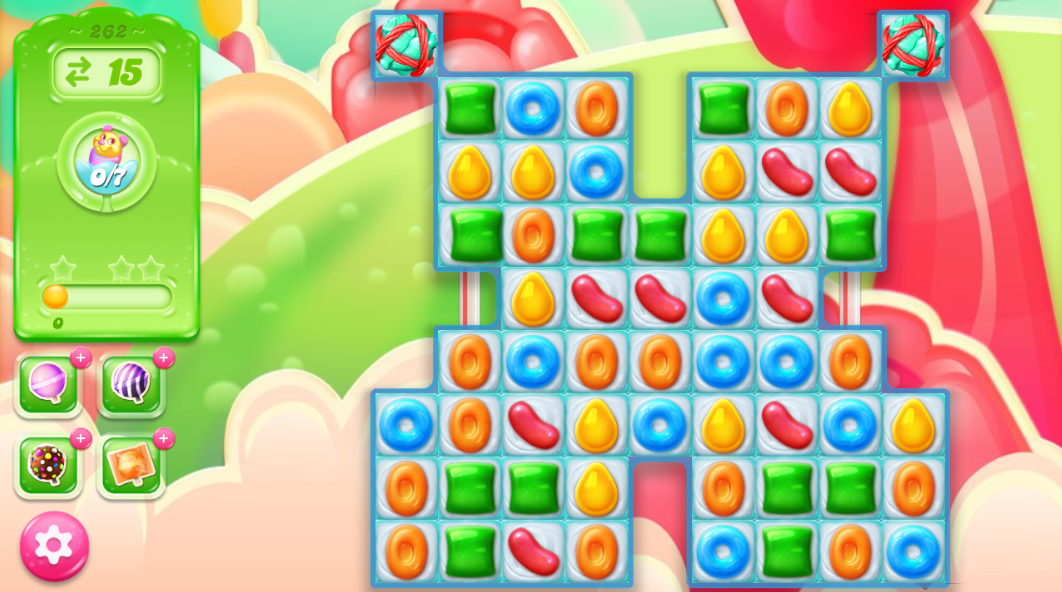 Candy Crush Jelly Saga 262