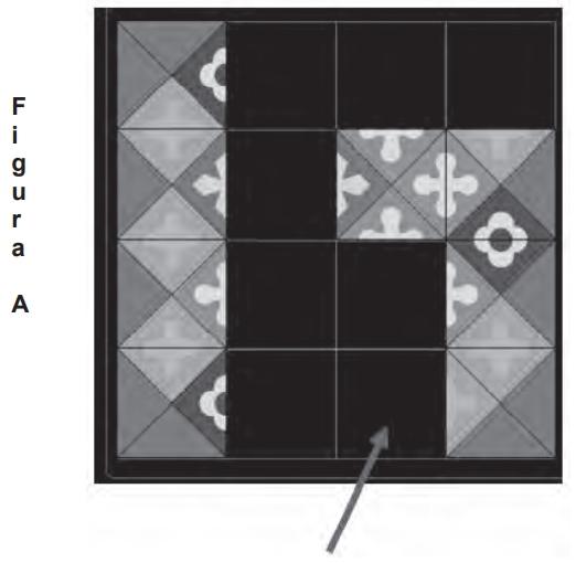 ENEM 2009: As figuras a seguir exibem um trecho de um quebra-cabeças que está sendo montado.