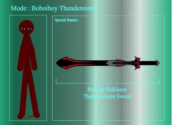 Boboiboy Stick Parody Done