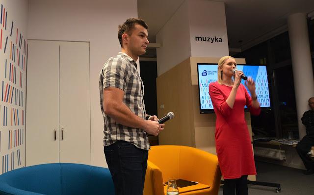 Moje spotkanie z Jakubem Małeckim w Bibliotece Gdynia