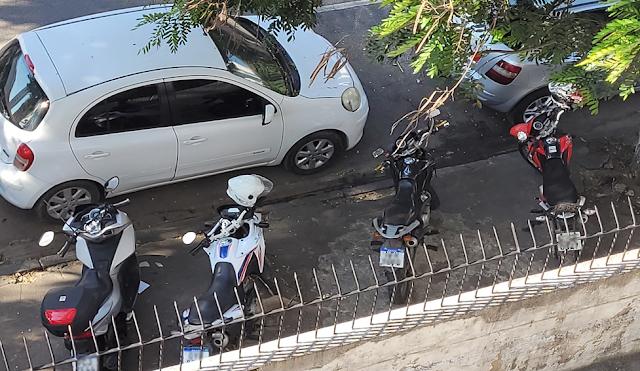 Internauta denuncia omissão da CTTU quanto a estacionamento sob calçadas da José Osório