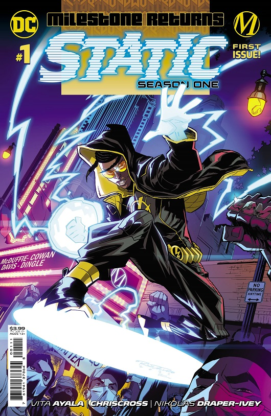 Cover of Static Season One #1
