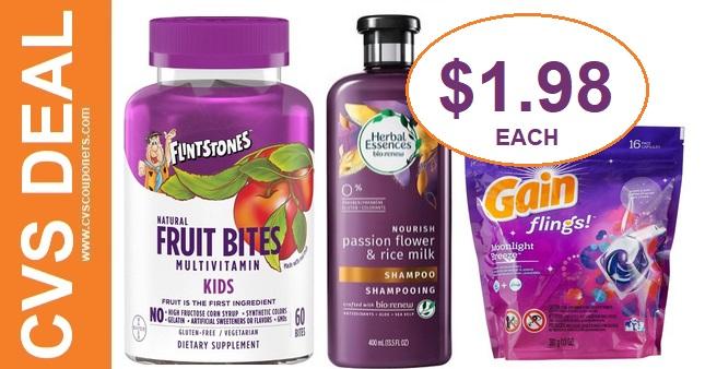 Cheap Flintstones Fruit Bites CVS Deals