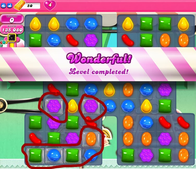 Candy Crush Saga Cheat: Level Completion