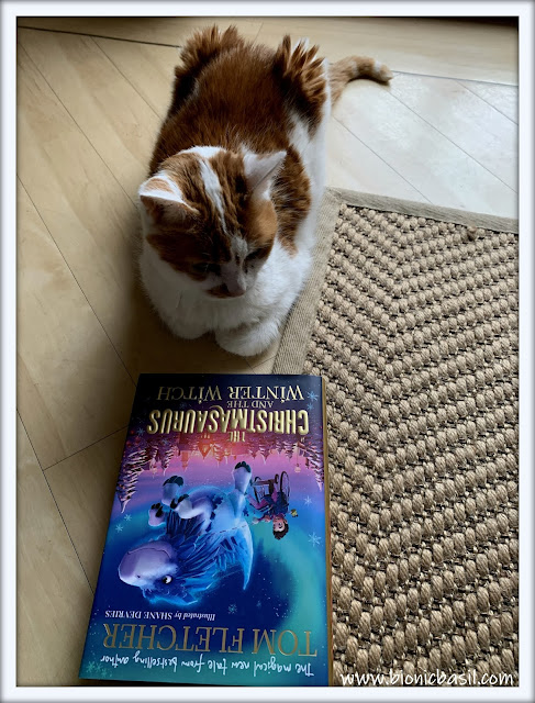Book Reviews with Amber  #149 ©BionicBasil®The Christmasaurus and the Winter Witch