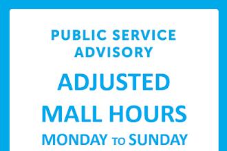 #SMAnnouncement: SM Center Dagupan Adjusted Mall Hours
