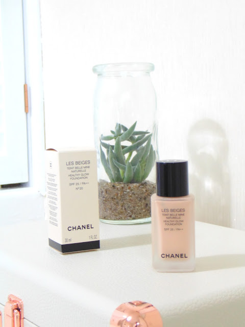 Chanel Healthy Glow Foundation No.20