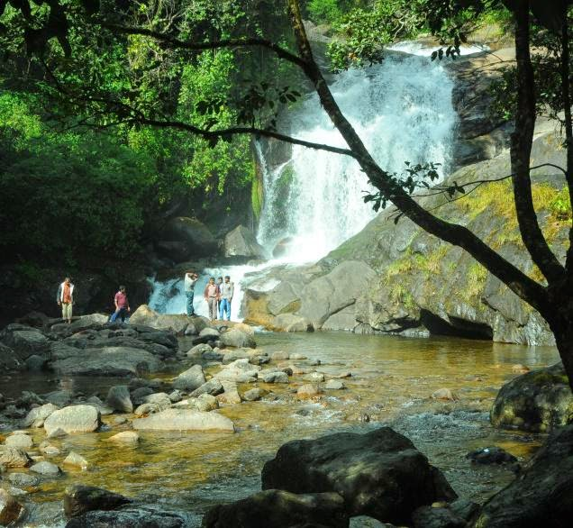 Enjoy Your Day in Lakkom Waterfalls Munnar