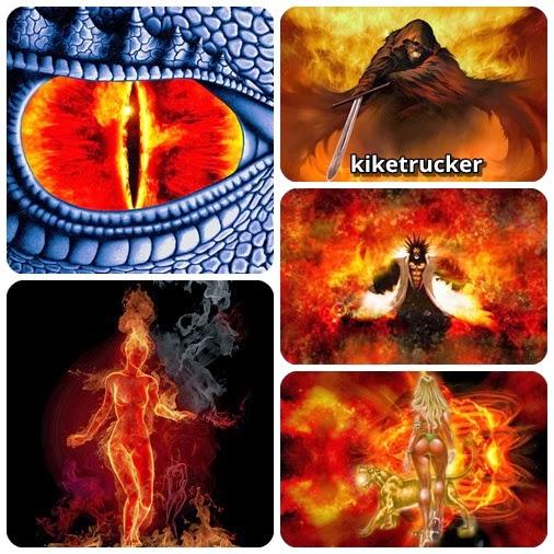 Wallpapers Efecto Fuego - Pack 3
