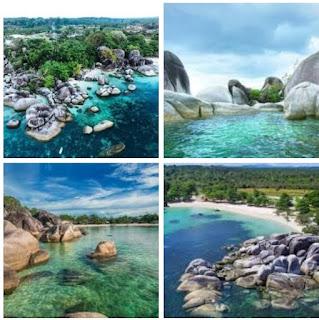 Pantai Tanjung tinggi Bangka Belitung wisata pantai yang tak kalah dengan bali
