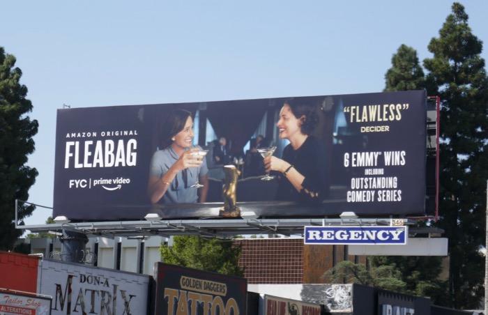 Fleabag season 2 FYC Kristin Scott Thomas billboard