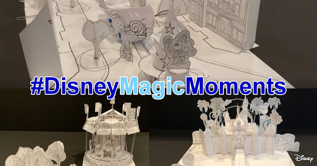 Disney Magic Moments, Disney Paper Parks, WDI, Walt Disney Imagineering, 華特迪士尼幻想工程, DIY