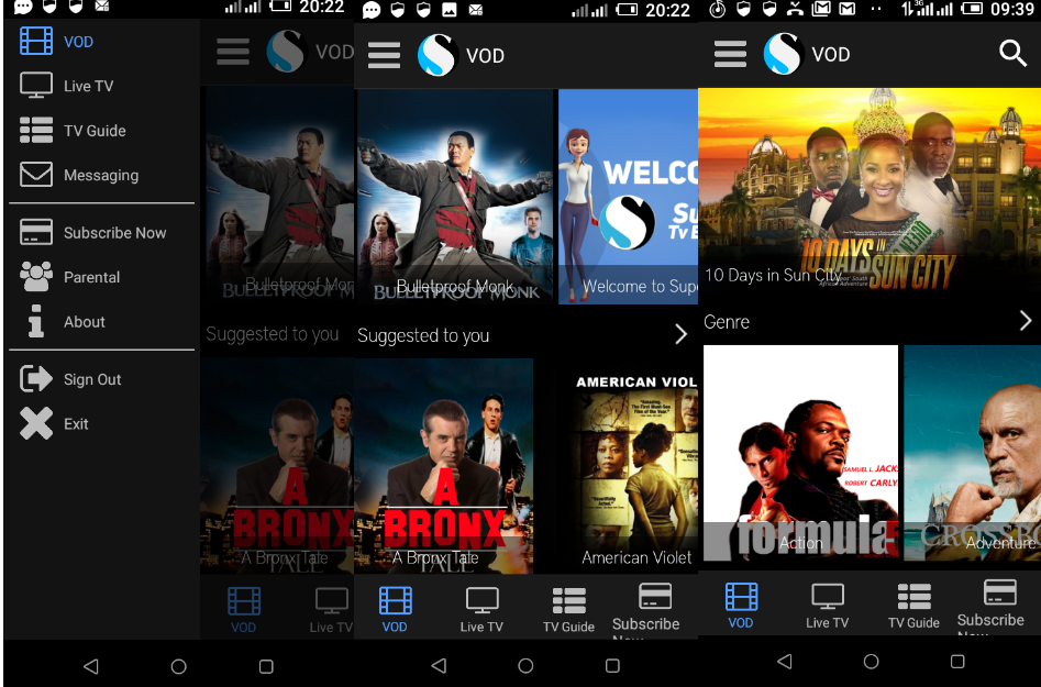 Watch free movies and TV series without data from your