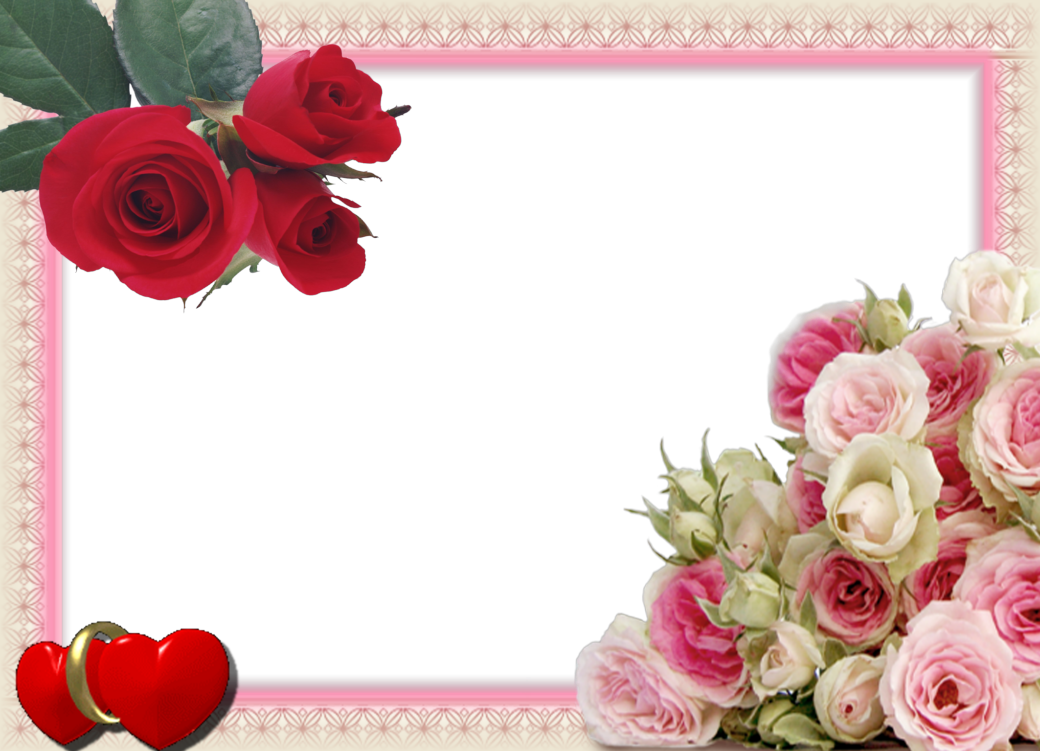 7 Preciosos Marcos para Fotos de Boda o Matrimonio. ~ Marcos Gratis ...