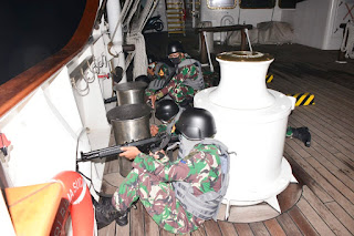 KRI Bima Suci Melintasi Laut Sulu Laksanakan Peran Jaga Perang