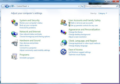 Cara Menonaktifkan / Mematikan Firewall pada Windows 7
