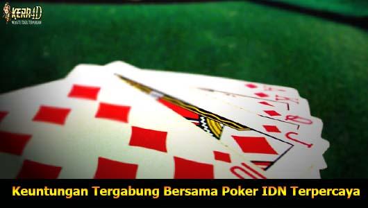 Keuntungan Tergabung Bersama Poker IDN Terpercaya