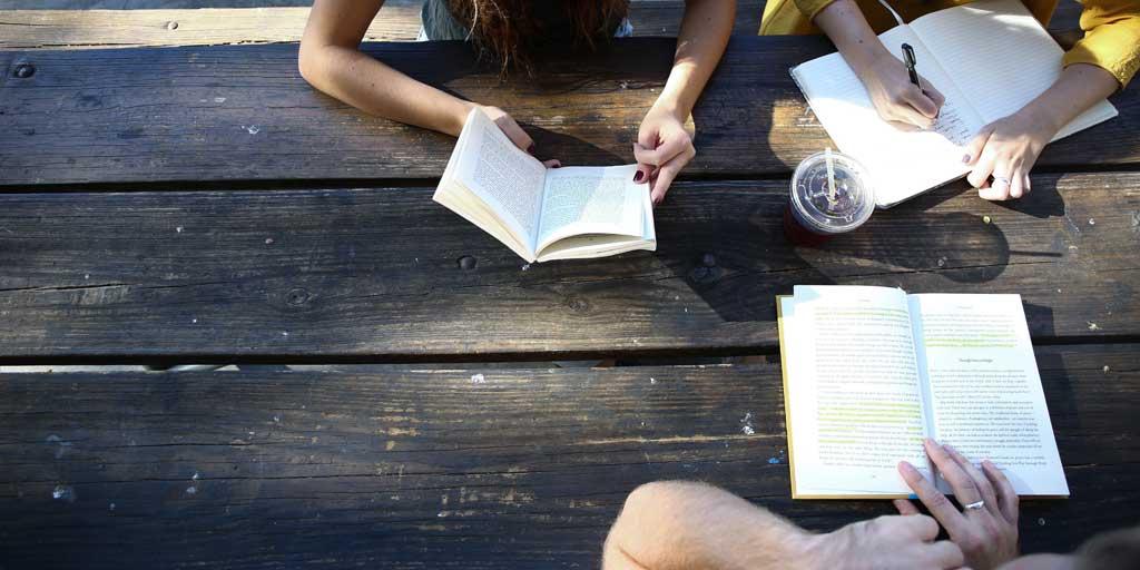 Reviewing a book - personal development book club