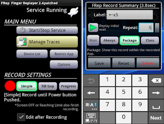 按鍵錄製:FRep - Finger Replayer APK