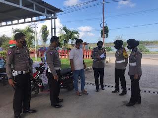 Kasat Lantas Polres Pinrang Dampingi Subdit Kamsel Dit Lantas Polda Sulsel Laksanakan Survey di Beberapa Lokasi