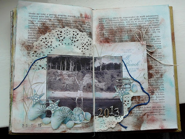 art journal - morze