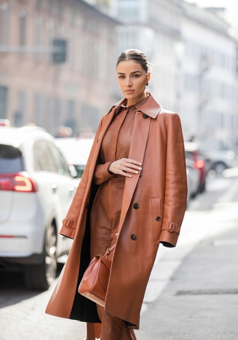 Olivia Culpo Clicked Outside in Milan 21 Feb-2020