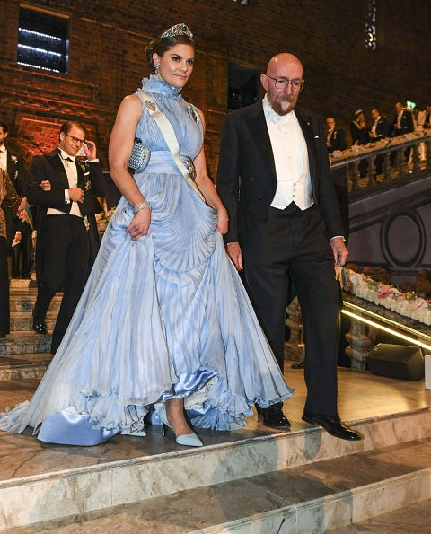 Princess Victoria wore Jennifer Blom, Princess Madeleine wore Seraphine, Princess Sofia wore Ida Lanto dress