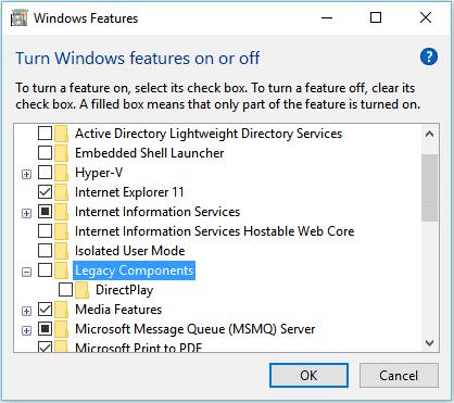 Nonaktifkan Fitur Yang Tidak Perlu di Windows 10