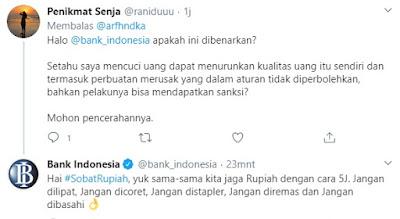 Jawaban Bank Indonesia terkait pencucian uang