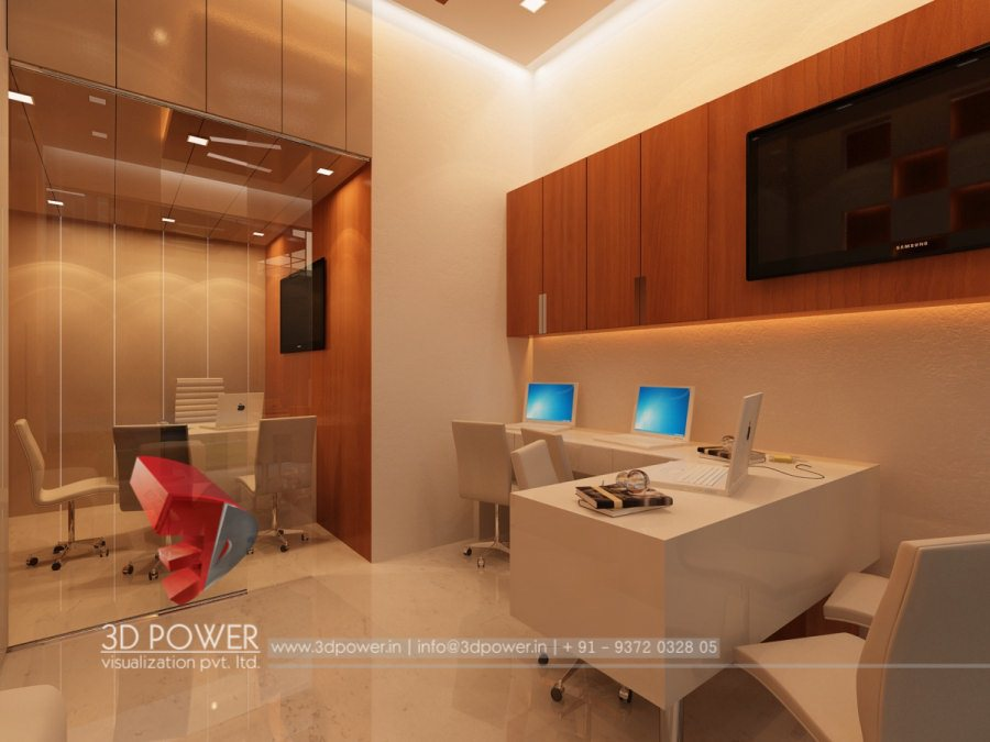 Modern Office Cabin Design