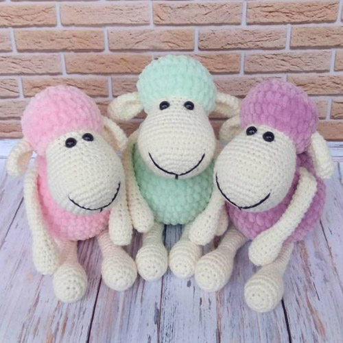 Amigurumi Sheep Plush Toy - Free Pattern