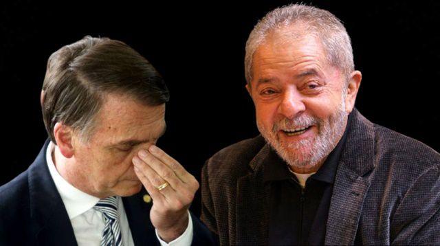 Lula supera Bolsonaro em potencial de voto, diz Ipec (ex-Ibope)