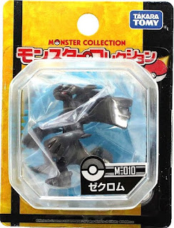 Zekrom figure Takara Tomy Monster Collection M series