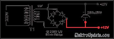 Rangkaian Power Supply DC Sederhana dan Prinsip Kerjanya
