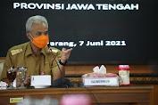 Masuk Zona Merah, Ganjar Instruksikan 8 Kepala Daerah di Jawa Tengah