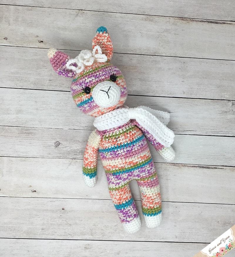 Ragdoll Llama Free Crochet Pattern • Spin a Yarn Crochet | 873x800