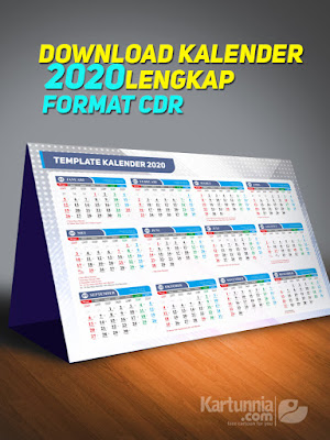 download kalender 2020 gratis cdr corel draw