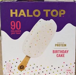 Halo Top Birthday Cake Ice Cream Lollies