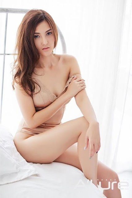 Hot and sexy photos of beautiful busty asian hottie chick Thai Playboy booty model Ployfon Jeeraporn photo highlights on Pinays Finest sexy nude photo collection site.
