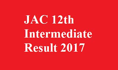 JAC 12th Intermediate Result 2017