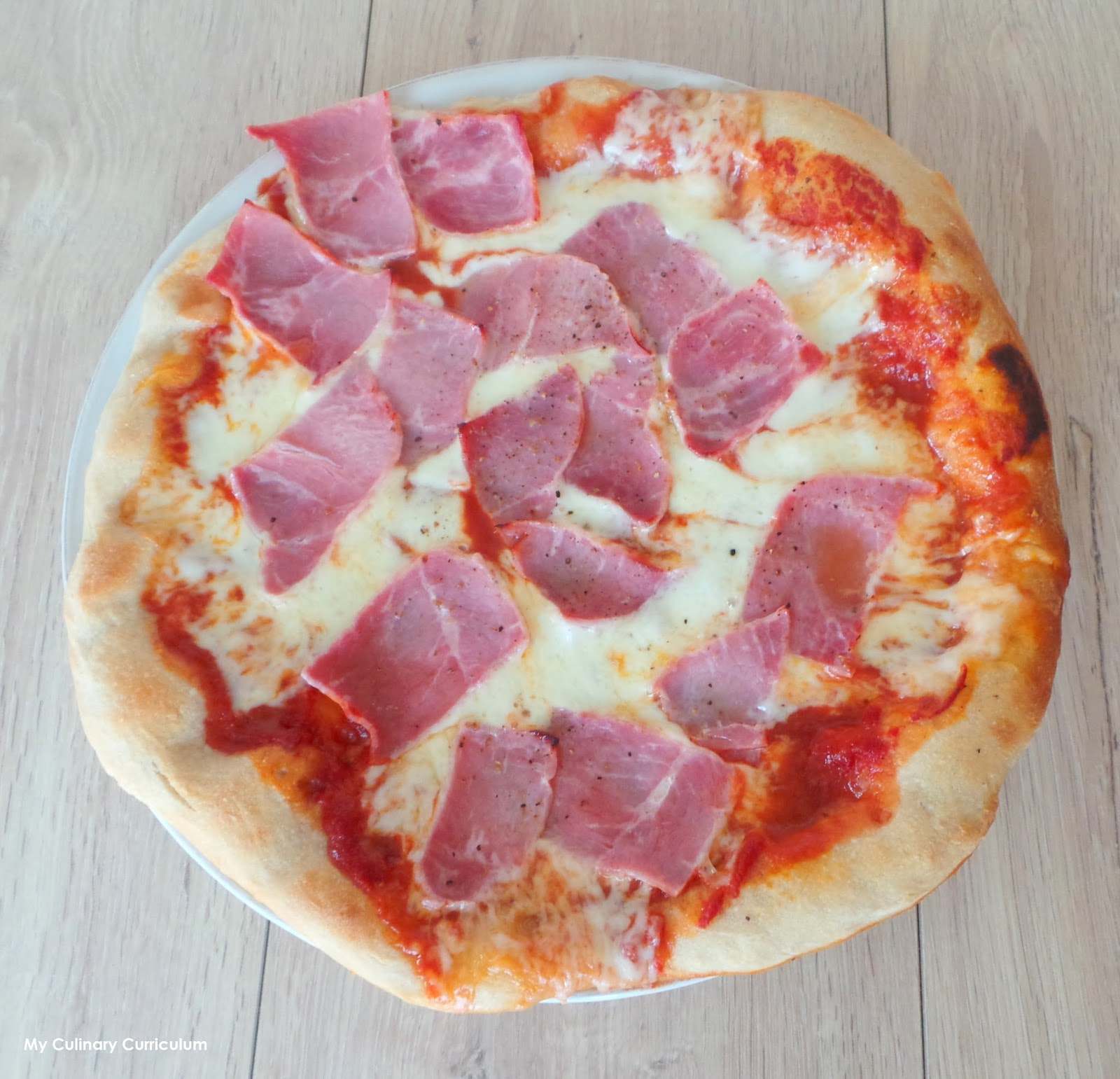 my culinary curriculum p te pizza maison recette d 39 eric kayser homemade pizza dough. Black Bedroom Furniture Sets. Home Design Ideas