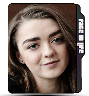 Celebrity, Maisie Williams, Actress icon, blonde, Cute Maisie Williams folder icon, Fair.