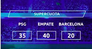 Mondobets supercuota PSG vs Barcelona 10 marzo 2021